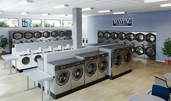 Maytag Commercial Laundry | Homepage on