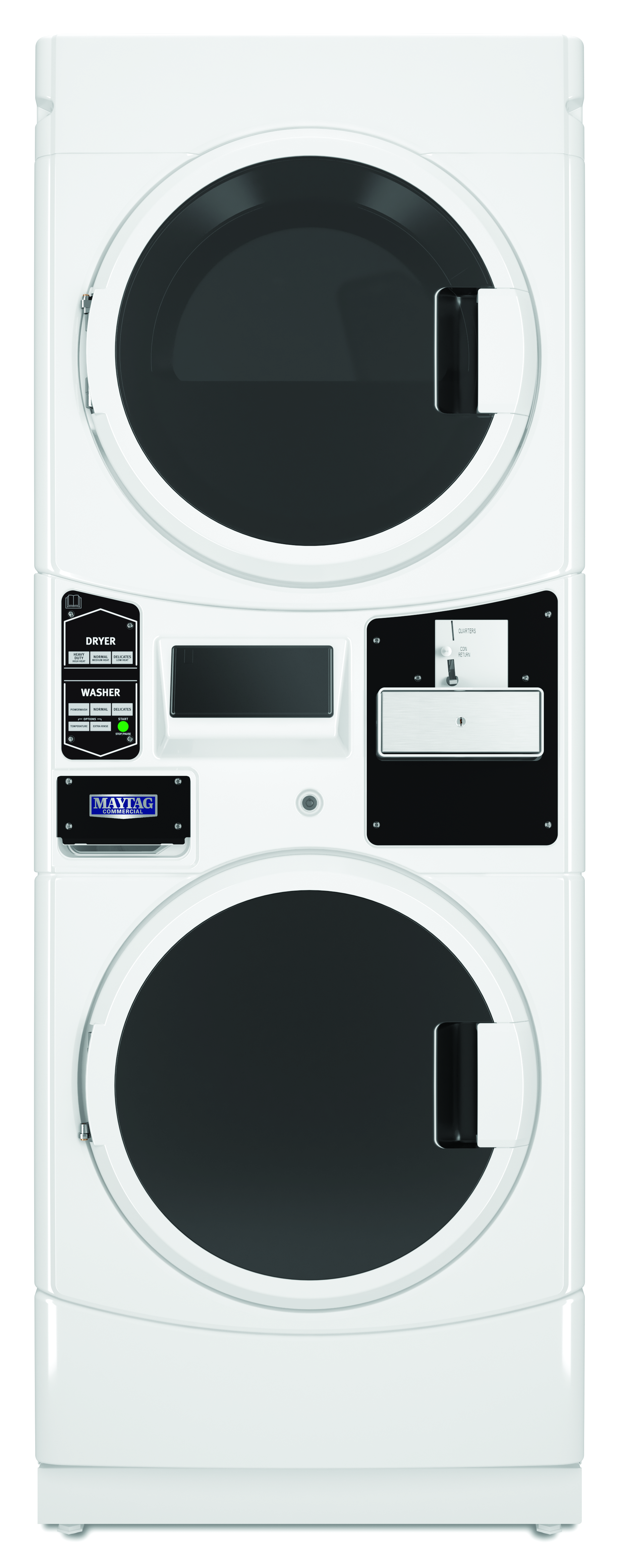 Single-Load Stack Washer/Dryers